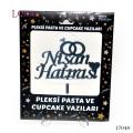 Pasta Harf ve Yazıları - 17048