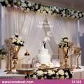Beyaz-Altın Nişan Masası - 51332