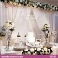 Beyaz-Gümüş Nişan Masası