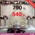 Gümüş Nişan Masası - 51356