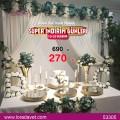 Turkuaz Nişan Masası - 53305