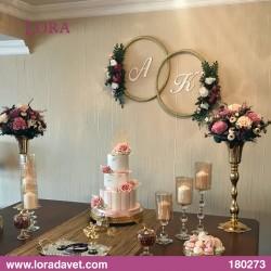 Çiçekli Harfli Masalar Müşteri - 180273