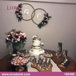 Çiçekli Harfli Masalar Müşteri - 180486