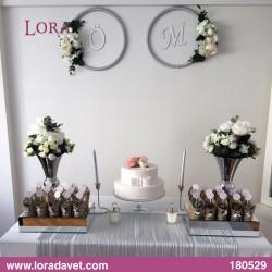 Çiçekli Harfli Masalar Müşteri - 180529