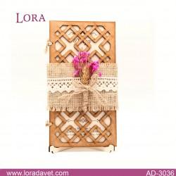 Lora Ahşap Davetiyeler - 30361