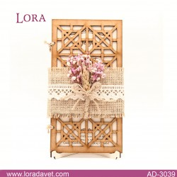 Lora Ahşap Davetiyeler - 30391