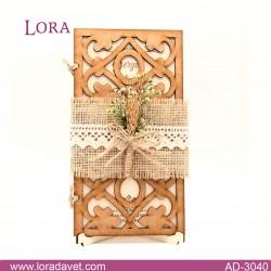 Lora Ahşap Davetiyeler - 30401