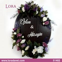 Çiçekli Kapı Süsleri - 54202