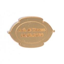 Lazer Kesim Ayna Nikah Bibloları - 94012