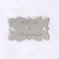 Lazer Kesim Ayna Bebek Bibloları - 96027
