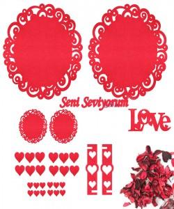 Sevgililer Günü Süsleri - 16518