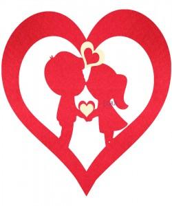 Sevgililer Günü Süsleri - 16521