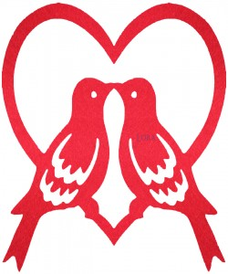 Sevgililer Günü Süsleri - 16526