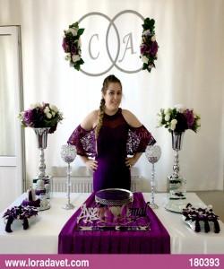 Çiçekli Harfli Masalar Müşteri - 180393