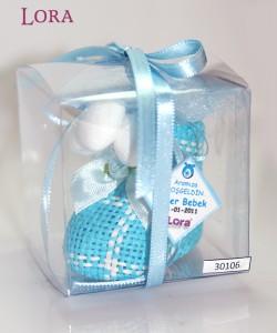 Erkek bebek asetat kutulu - 30106