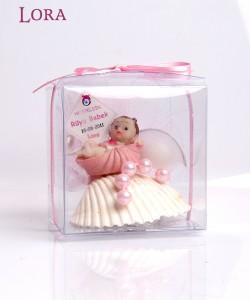 Kız bebek asetat kutulu - 30110