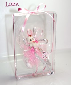 Kız bebek asetat kutulu - 30146