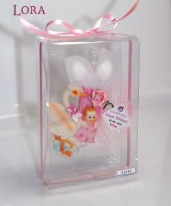 Kız bebek asetat kutulu - 30154