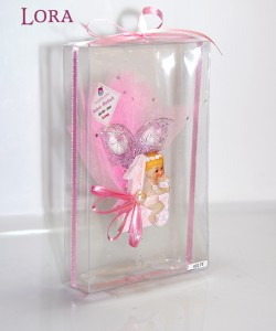 Kız bebek asetat kutulu - 30174