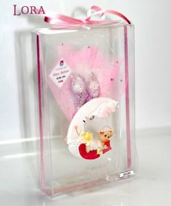 Kız bebek asetat kutulu - 30186
