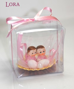 Kız bebek asetat kutulu - 30902