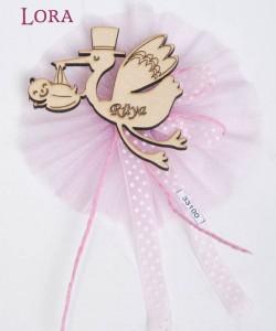 Ahşap Biblolu Kız Bebek - 33100