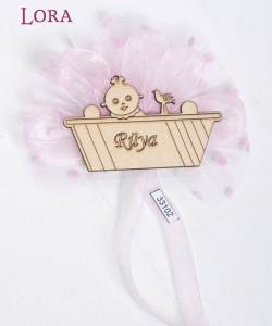 Ahşap Biblolu Kız Bebek - 33102