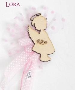 Ahşap Biblolu Kız Bebek - 33146