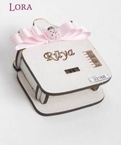 Ahşap Kutulu Kız Bebek - 33168