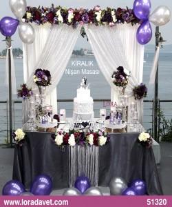 Söz - Nişani Töreni Masaları - 51320