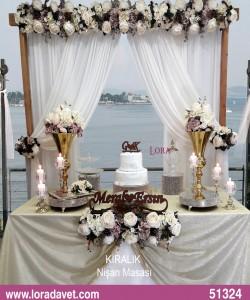 Söz - Nişani Töreni Masaları - 51324