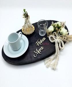 Damat Kahve Fincan Tepsisi - 54126