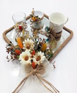 Damat Kahve Fincan Tepsisi - 54135