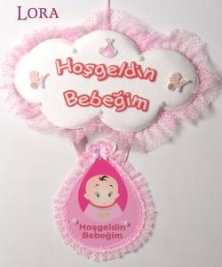 Kız Bebek Kapı Süsü - 74615