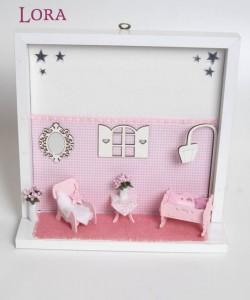 Kız Bebek Kapı Süsü - 74621