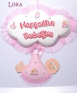 Kız Bebek Kapı Süsü - 75603
