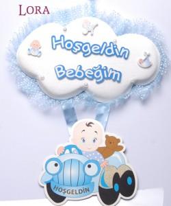 Erkek Bebek Kapı Süsü - 75604