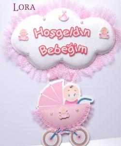 Kız Bebek Kapı Süsü - 75609