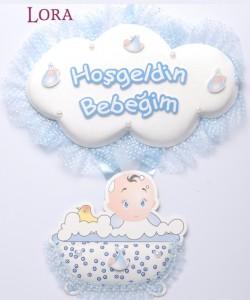 Erkek Bebek Kapı Süsü - 75612