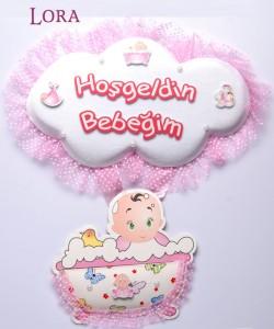 Kız Bebek Kapı Süsü - 75613