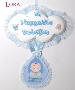 Erkek Bebek Kapı Süsü - 75614