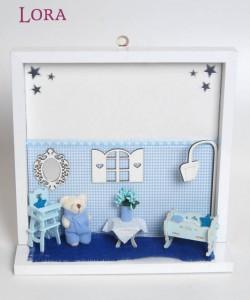 Kız Bebek Kapı Süsü - 75636