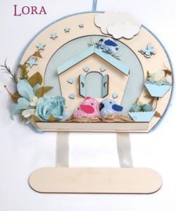 Erkek Bebek Kapı Süsü - 75643