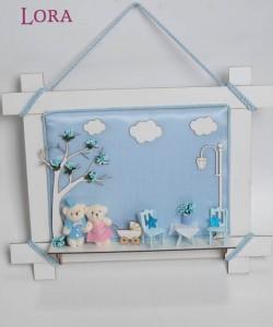 Kız Bebek Kapı Süsü - 75655