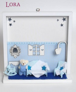Kız Bebek Kapı Süsü - 75662