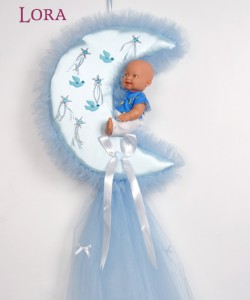 Erkek Bebek Kapı Süsü - 75701