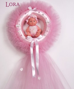 Kız Bebek Kapı Süsü - 75707
