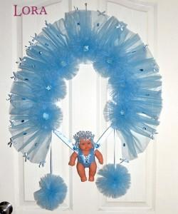 Erkek Bebek Kapı Süsü - 75726