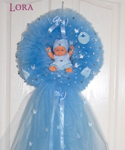 Erkek Bebek Kapı Süsü - 75730