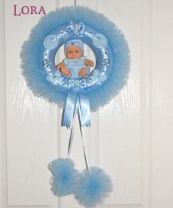 Erkek Bebek Kapı Süsü - 75734